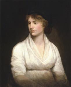 Mary Wollstonecraft (1759-1797), en pionjär inom kritisk oordning.